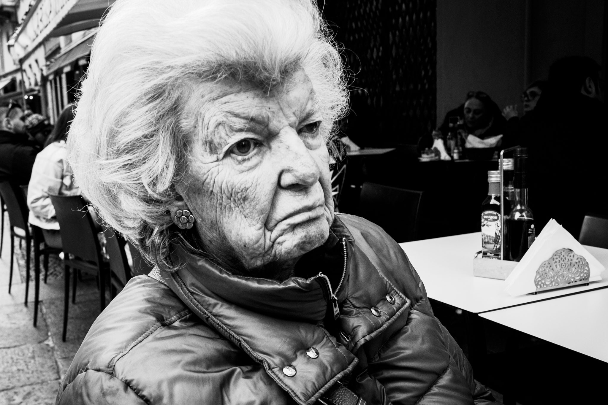 Old Lady in Milano